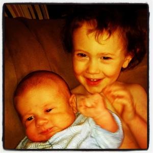 Noah, 3. AJ, 6 weeks.
